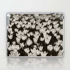 Field of white butterflies  Laptop & iPad Skin