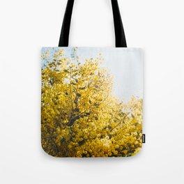 Acacia Botanical Print Tote Bag