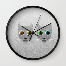 CrazyCats Wall Clock