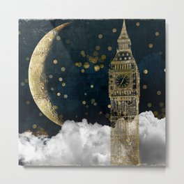 Cloud Cities London Metal Print