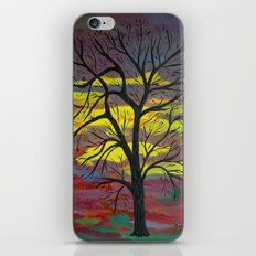 Tall tree iPhone & iPod Skin