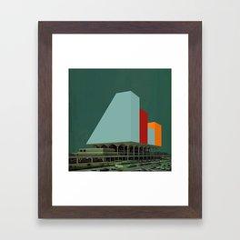 Block 25 Framed Art Print