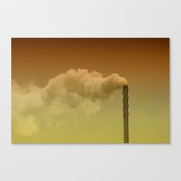Never forget you're breathing air... Canvas Print
