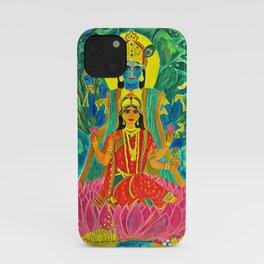 Lakshmi-Narayan iPhone Case