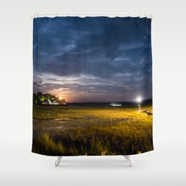 Star Gazing Shower Curtain