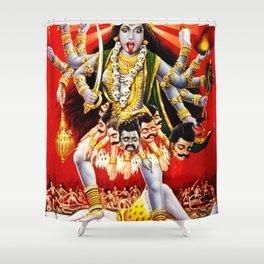 Hindu Kali 17 Shower Curtain