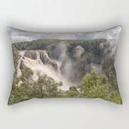 Barron Falls in Queensland Rectangular Pillow