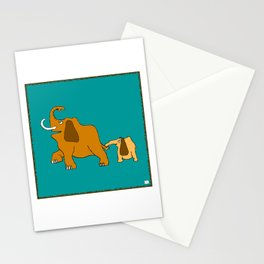 Me and my Elephant son Stationery Cards