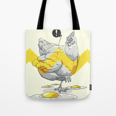 Chicken in the kitchen Tote Bag