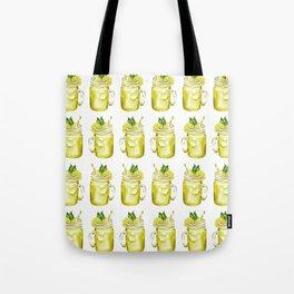 Watercolor Summer Lemonade Tote Bag