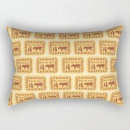 Malted Milk Medley Rectangular Pillow