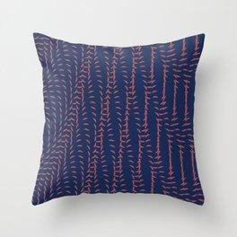 Or_blue Throw Pillow