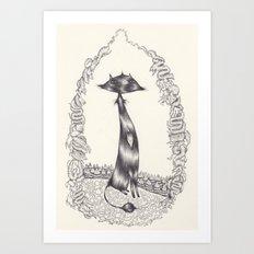 Le baron Art Print