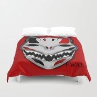 werewolf Duvet Covers featuring WereWolf by FWAETI