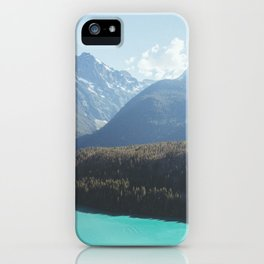 Brilliant Blue Diablo Lake iPhone Case