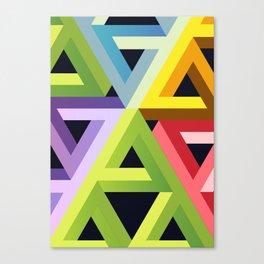 Triangular Revolution Canvas Print