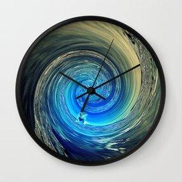Surf Spiral Wall Clock