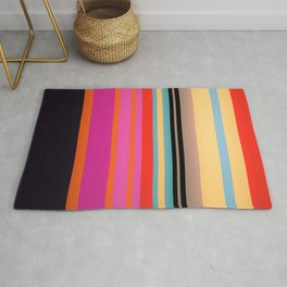 Sunset Stripes Rug