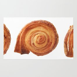 Group of puff pastry cookies Rug