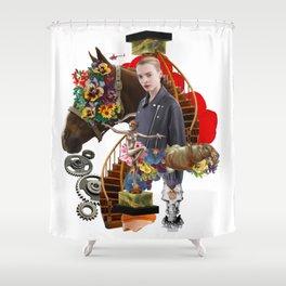 Like a Horse by Lenka Laskoradova Shower Curtain
