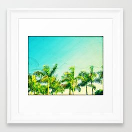Florida Dreaming Framed Art Print