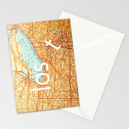 The Lost T Stationery Cards