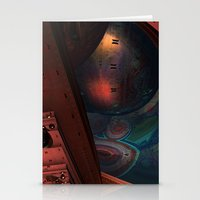 sci fi Stationery Cards featuring Sci-Fi by Lyle Hatch