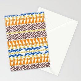 grecas de mitla Stationery Cards