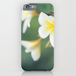 in the happy garden iPhone Case