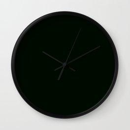 456. Nureba-iro (Wet-Wing-Color, Wet Crow's Wing)  Wall Clock