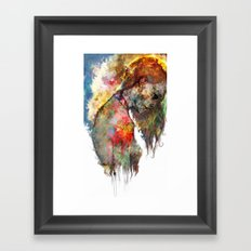 what's left of me Framed Art Print