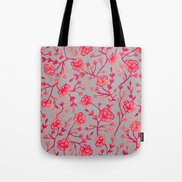 Watercolor Peonies - Coral Tote Bag