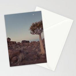 Desert Quiver Tree at dusk - Landscape photography #Society6 Stationery Cards