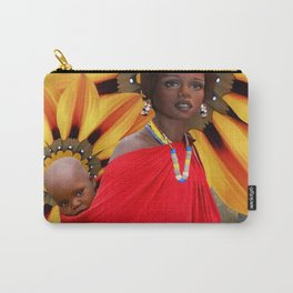 African Mother Carry-All Pouch