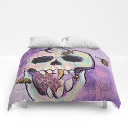 Skull&Bees Comforters