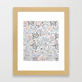 floral background Framed Art Print