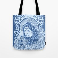 gypsy Tote Bags featuring Gypsy by albertsurpower