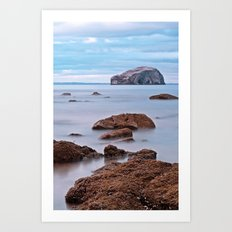 The Bass Rock Art Print