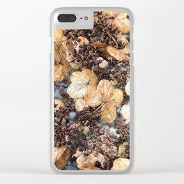 Mocha Morning Clear iPhone Case