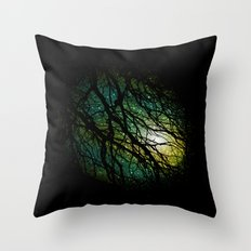 once upon a night Throw Pillow
