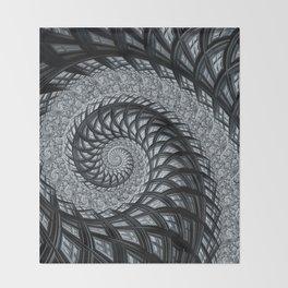 The Daily News - Fractal Art Throw Blanket