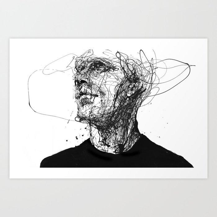frail lull Art Print