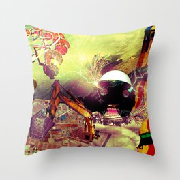 Hoo son, we have a problem! Throw Pillow