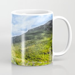 Small Village within mountains Coffee Mug