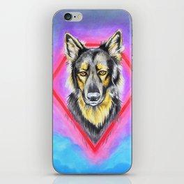 Koba the German Shepherd Dog iPhone Skin