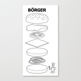 Börger Canvas Print