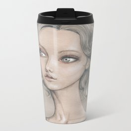Curly Metal Travel Mug
