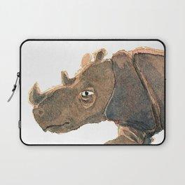 Thinking Rhinoceros Laptop Sleeve