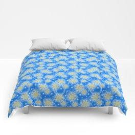 Inspirational Glitter & Bubble pattern Comforters