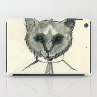 mr fox iPad Cases featuring Mr. Fox by Shiroshi